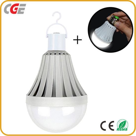 AC110V/220V Rechargeable LED Smart Emergency Bulb B22 Lamp E27 Charging Bulb Lamp