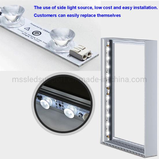 60mm Depth Single (double) Side Lightbox Edge Lit LED Strip Light Bar for Advertising Sign