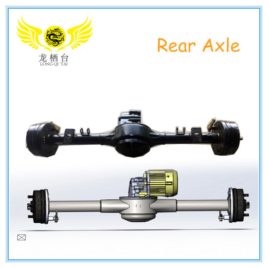High Quality Auto Spare Part Electric Motor Rear Differential Axle