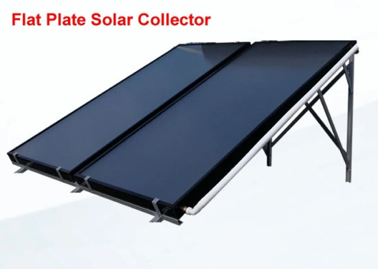 Hot Water Solar Thermal Panel, Flat Plate Solar Collector 2000X1000X80mm, Germany Imported High Selective Bluetec Absorber
