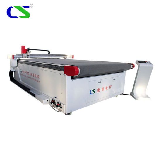 High Speed Automatic CNC Vibration Knife Leather /Rubber / Cardboard /PVC /Shoe/Footwear /Natural Leather Genuine Skin /PU Cutting Making Machine