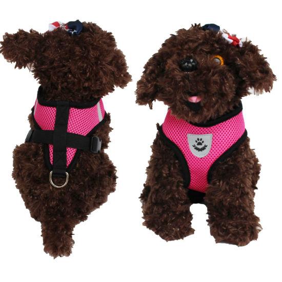 Soft Mesh Padded Reversible Printed Dog Pet Luxury Harness/Pet Vest/Pet Decoration/The Dog Dog Vest