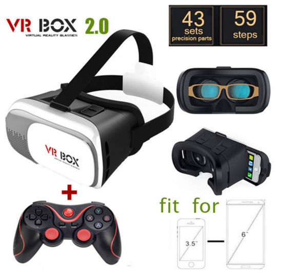 China 2016 New Product Vr Box 2 0 Version Vr Virtual Reality Glasses