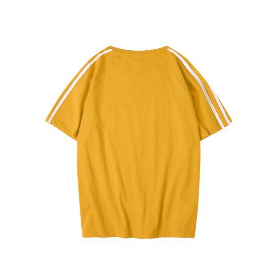 Wholesale Customized Solid Color T-Shirt Multi Color Breathable Cotton Men and Women's T-Shirt