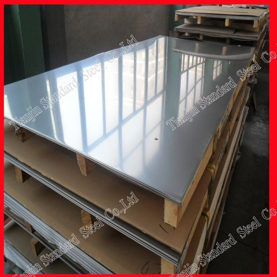 Tisco 430 T430 Stainless Steel Plate with PVC Film pictures & photos