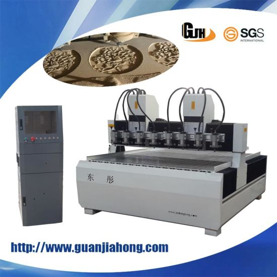 1313-1-4 Mutli-Spindle Engraving Machine CNC Router pictures & photos
