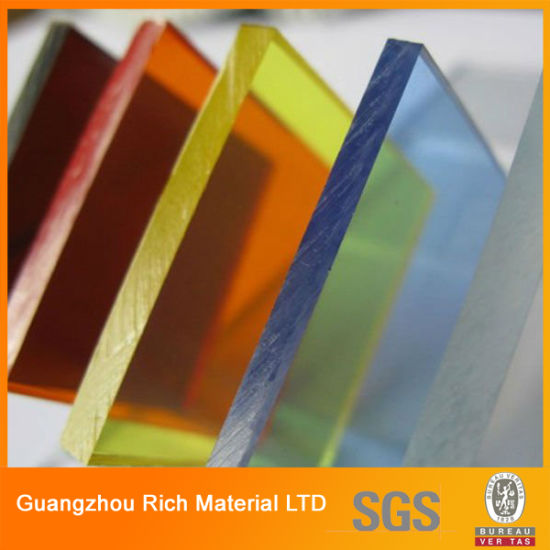 Translucent Color Cast Acrylic Sheet Plastic Perspex Sheet