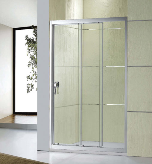 China Australian Standard Bathroom Three Sliding Doors Frame Shower ...