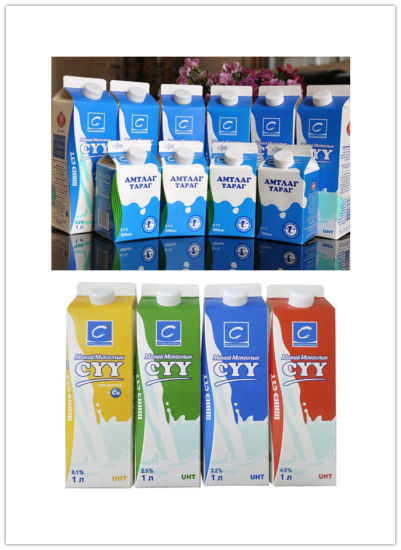 1L Fresh Milk Gable Top Cartons pictures & photos