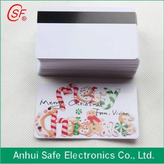 Printable Inkjet Magnetic Stripe Card