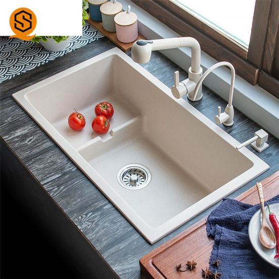 Luxury Kitchen Furniture Kitchen Sink Granite Undermount Kitchen Sink
