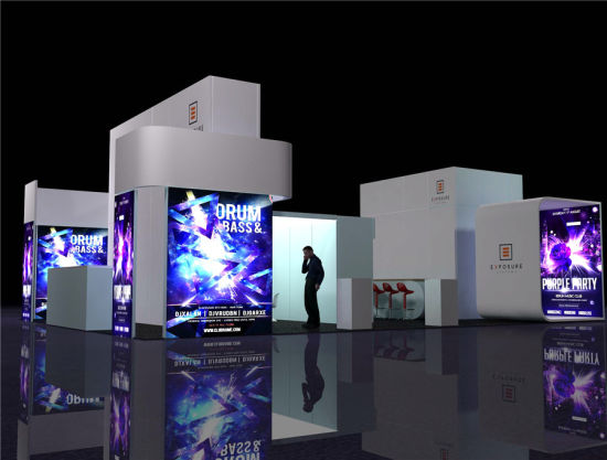 Modern Expo Standsay : China modern trade show display trade show display stands china