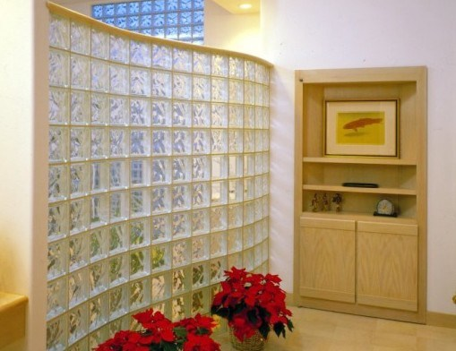 Clear / White/ Colored Glass Block for Wall Furniture pictures & photos