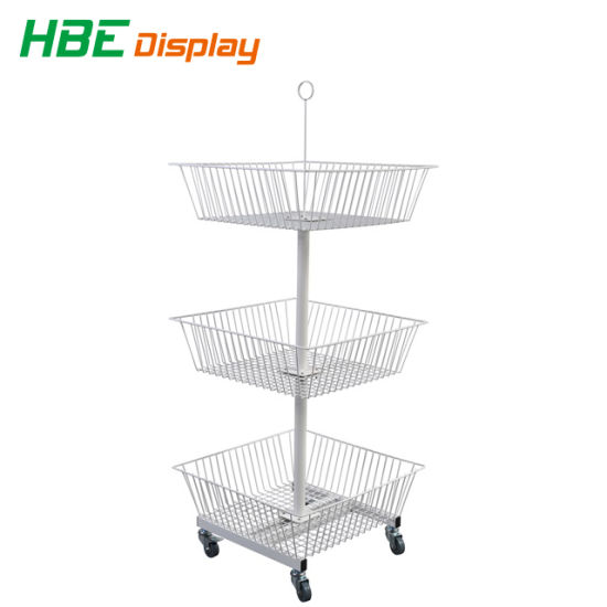 Hot Sale Floor Gridwall Display Stand pictures & photos