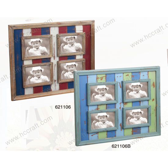 Wooden Wall Decoration with Multiple Opening Frame pictures & photos