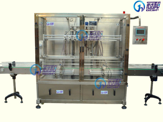 Automatic Filling Machine with Bottle Sealing Labeling Packaging Line (GHAPF-8) pictures & photos