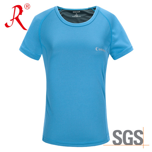 Summer Quick Dry and Breathable T-Shirt (QF-1804 women) pictures & photos