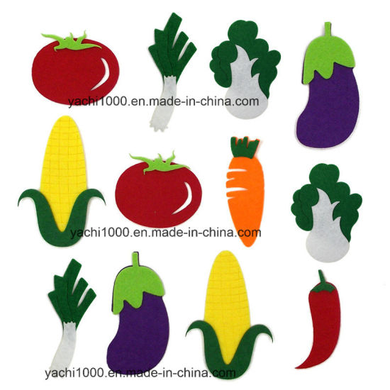 Kids Puzzle Toy Vegetable and Walldrawing Toy Felt