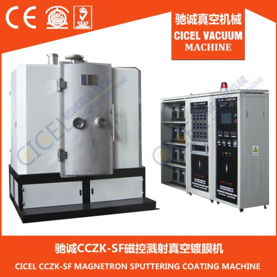 Cczk-Ion Professional Stainless Steel Flatware Thin Film PVD Coating Machine Color Gold, Rose Gold, Black, Blue Coating pictures & photos