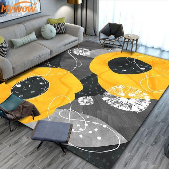 New Design Luxury Customized Living Room Modern Washable Rug