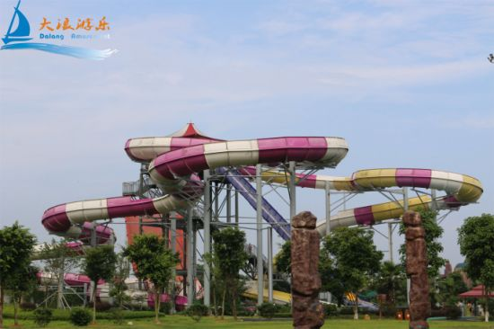 Fiberglass Family Raft Water Slide (WS-053) pictures & photos