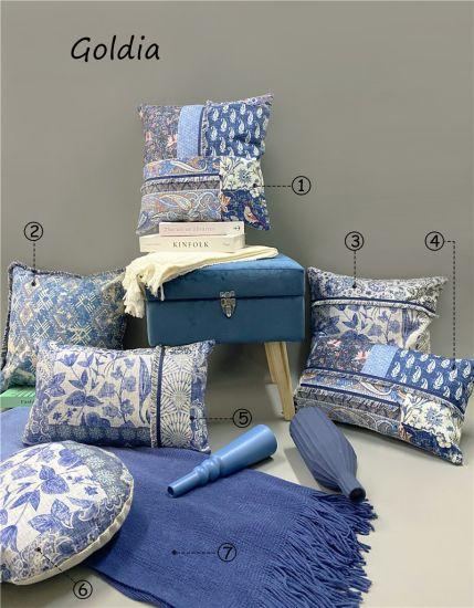 Geometrical Velvet Cushion / Print Cushion