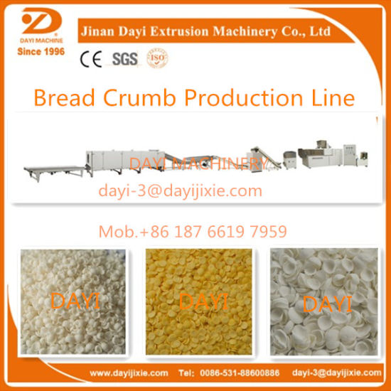 Japanese Style Bread Crumb Extruder pictures & photos