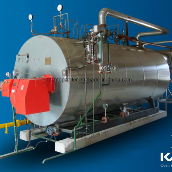China Oil Gas Fired Steam Boiler for Turbine Power Generator - China ...