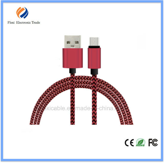 for Samsung Data Sync Charger Cable, 1m 2m 3m Braided Micro