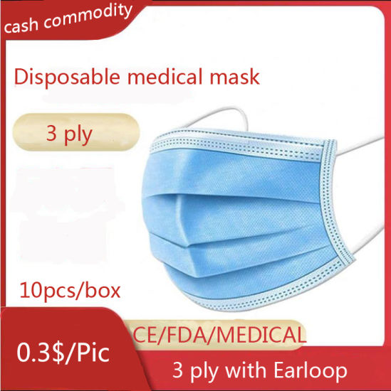 Disposable Sterile Medical Surgical Masks Are Virus-Resistant and Dust-Resistant