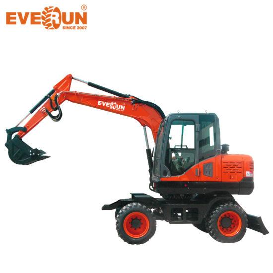 Everun ERWE150 13.5ton Garden Machine Hydraulic Medium Excavator from China Supplier