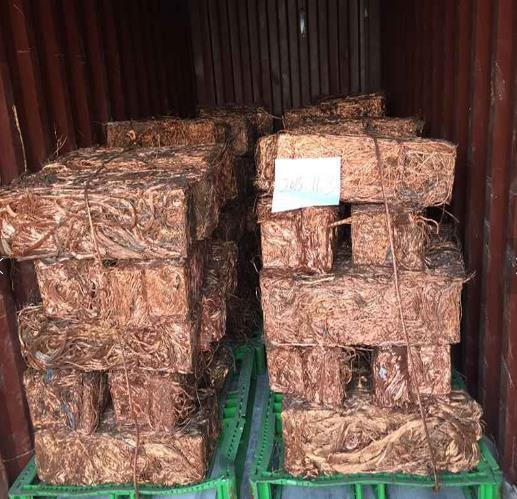 Copper Wire Scrap 99.99% Millberry Copper Cable Scrap From China Factory