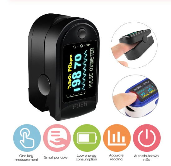 Low Price Medical Digital SpO2 OLED Pulse Heart Rate Monitor Fingertip Finger Pulse Oximeter with Cheap Price