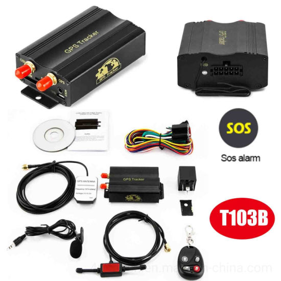 Motorcycle or Bike Wired GPS Tracking with Real Time Positioning T103b