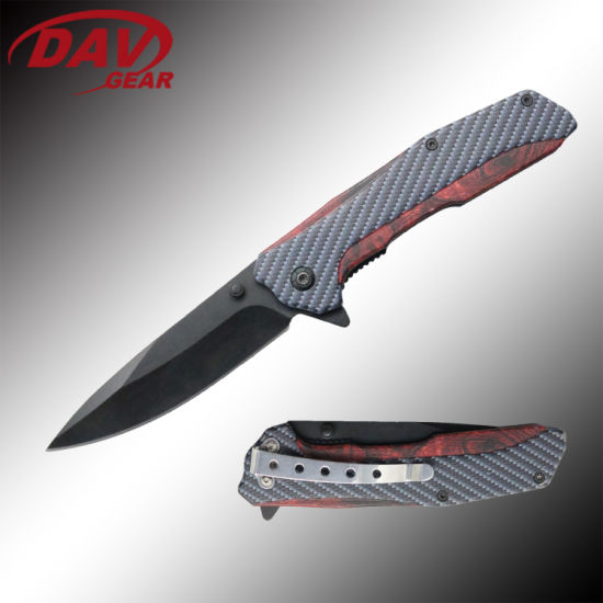 """4.5""""Stainless Steel Spring Assisted Pocket Folding Knife for Outdoor and Hunting"""