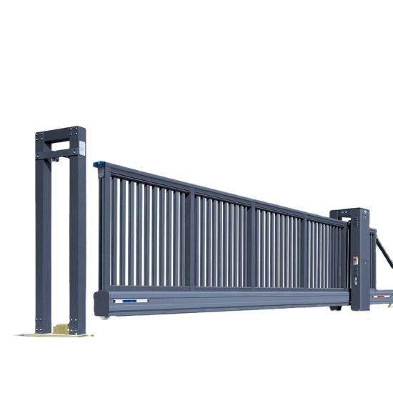 Custom Size Telescopic Sliding Gate Design Graphic Design Automatic for Main Gate Qg-L2100