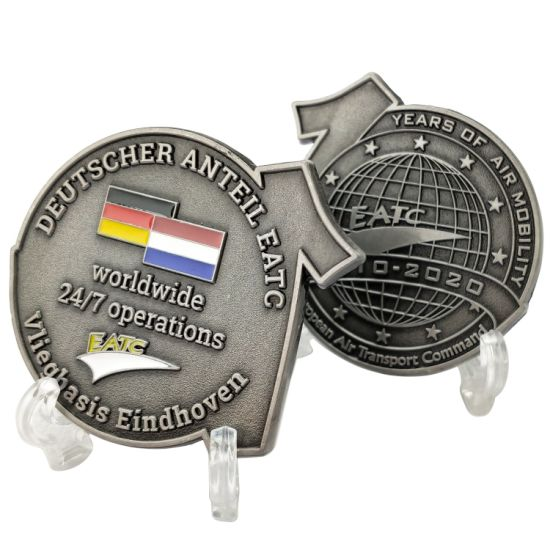 Custom Personalized Form Metal Crafts Germany Flag Logo Military Navy Army Air Force Challenge Coins Etiquette Collectors