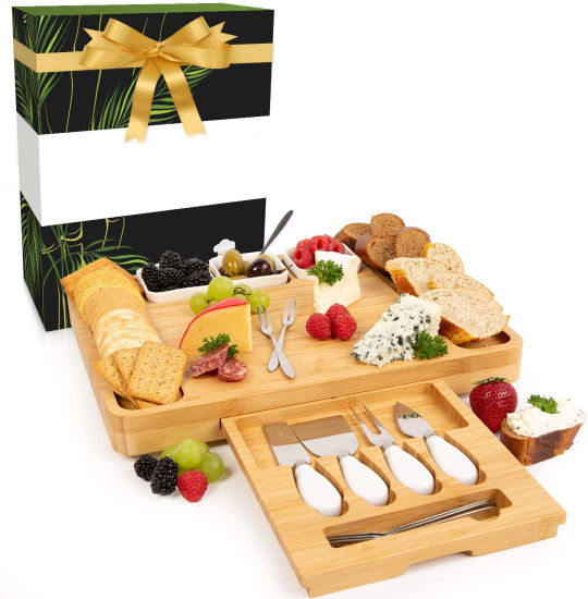 Wholesale Eco Friendly Cheese Board and Knife Set