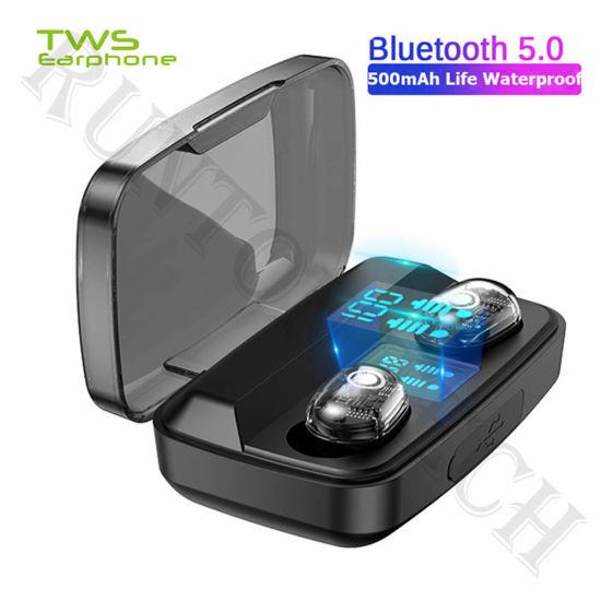 M13c Wireless Earphone Portable Power Bank Stereo Mini Bluetooth Earbuds