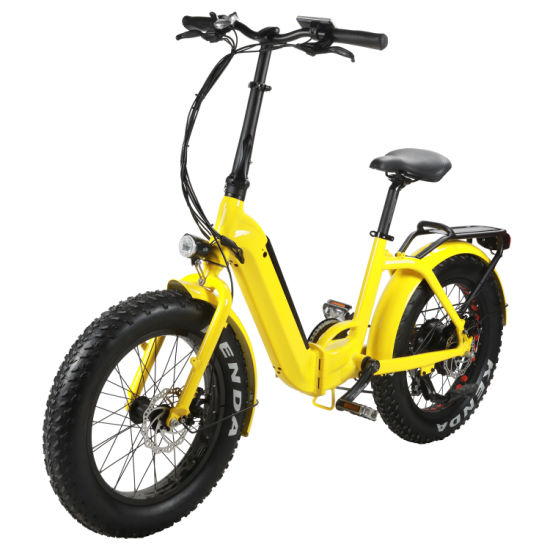 20 Inch Foldable E Bike with Hidden Battery