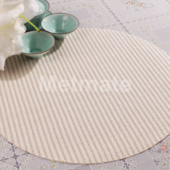 China Round Table Mats And Cream, Round Table Mats