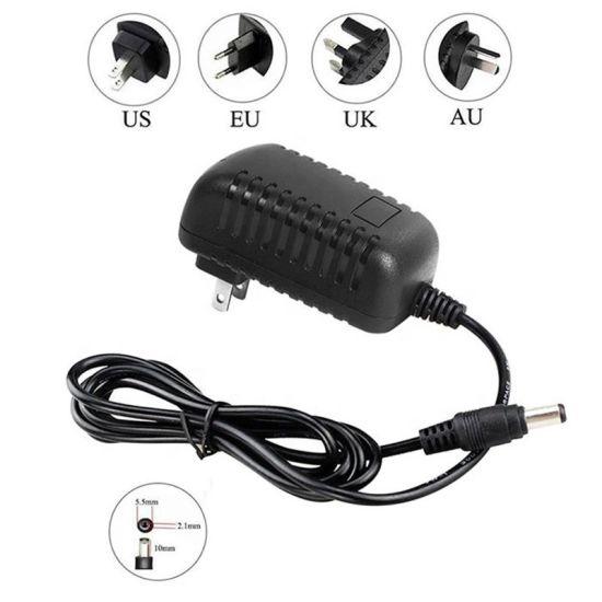 Factory Price AC Us Wall Plug DC 5V 9V 10V 12V 24V 0.5A 1A 1.5A 2A 2.5A 3A Medical Switching Power Adapter with UL Certification