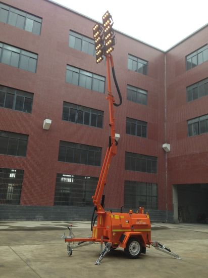China Road Construction SAA 6X480W High Mast Mobile Portable