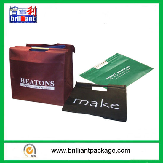 Customized PP Woven Laminated Shopping Bag pictures & photos
