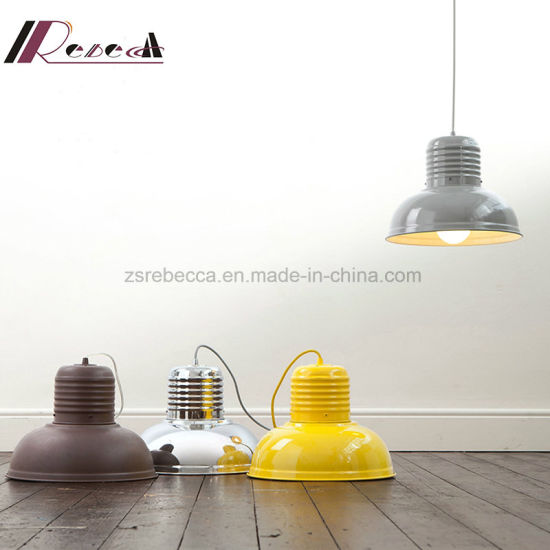 Individual Yellow Metal Adjustable Wire Pendant Lamp for Coffee & Home pictures & photos