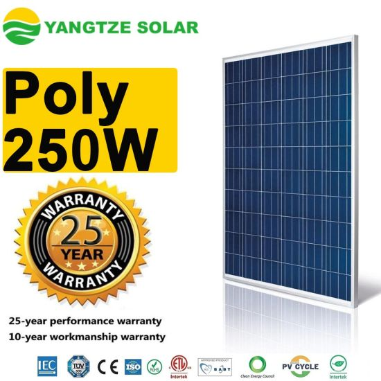 The Cheapest Poly Sunrise 250w Pv Solar Panels