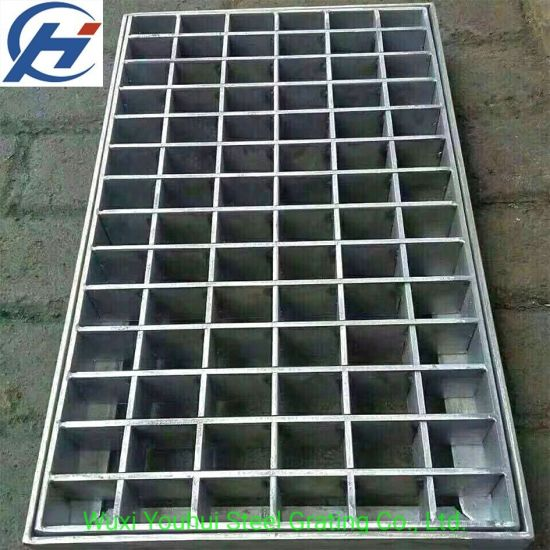 Industrial Serrated or Treads or Plain Flat Statinless Steel Bar Grating (yh-32)