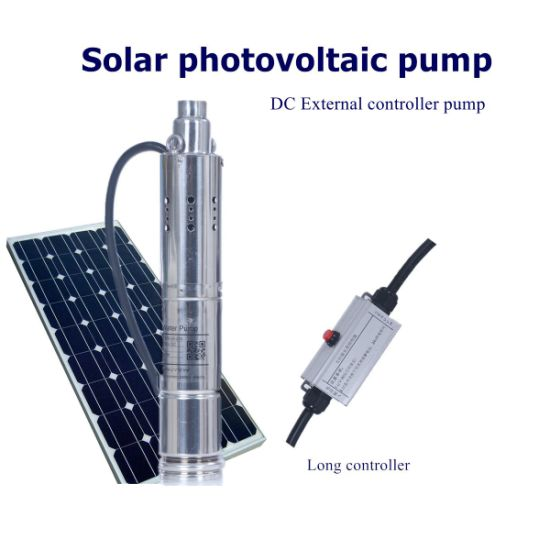 20m Lift 24V DC Submersible Solar Water Pump, 3000L/H Flow Rate Solar Powered Water Pump pictures & photos