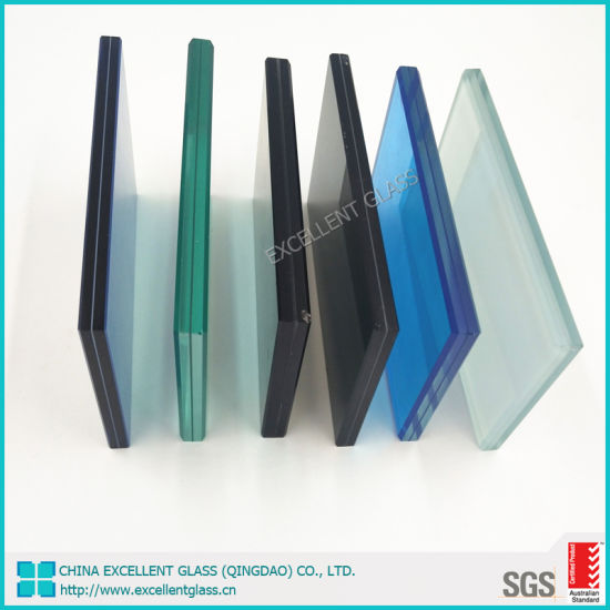 Safety Laminated Glass Price 6.38mm 8.38mm 8.76mm PVB Colored/Clear Laminated Glass