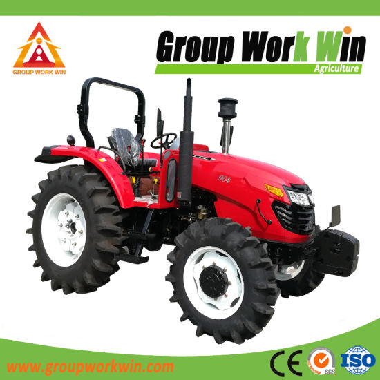 Hot Sale 4WD 90HP Big Farm Tractor for Sale